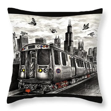 Enjoy The Ride   Throw Pillow