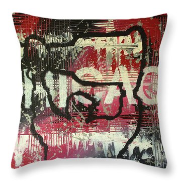 Chicago's Cup Throw Pillow