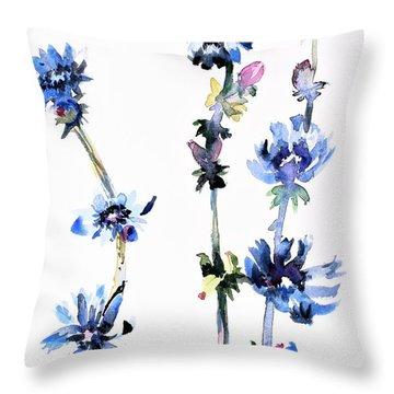 Chicory Throw Pillow