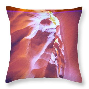 Chief Antelope Throw Pillow