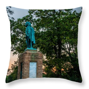 Chief Keokuk Throw Pillow