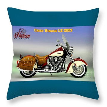 Chief Vintage Le 2013 Throw Pillow