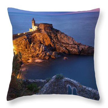 Throw Pillow featuring the photograph Chiesa San Pietro by Brian Jannsen