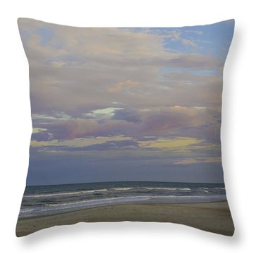 Chiffon Sunset Throw Pillow