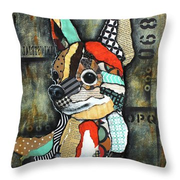 Chihuahua 2 Throw Pillow