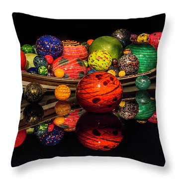 Chihuly Reflection Throw Pillow