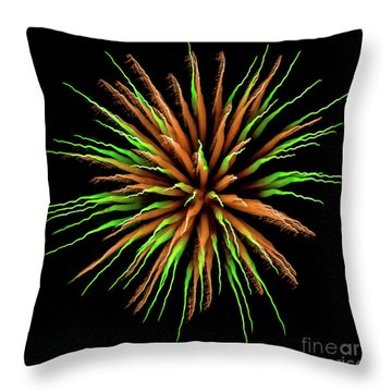 Chihuly Starburst Throw Pillow