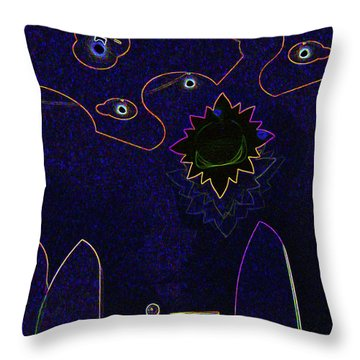 Child Art 3 Throw Pillow by Bruce Iorio