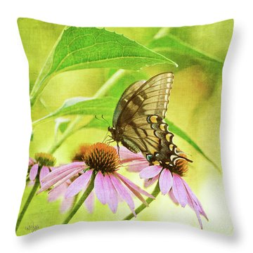 Child Of Sun And Summer Throw Pillow by Lois Bryan