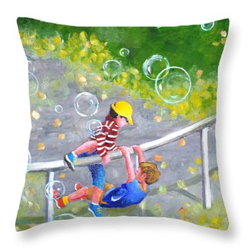 Childhood #1 Throw Pillow