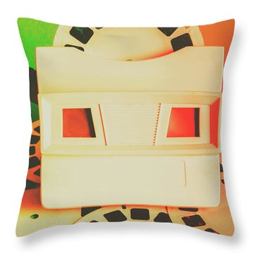 Childhood Memory Flashback Throw Pillow