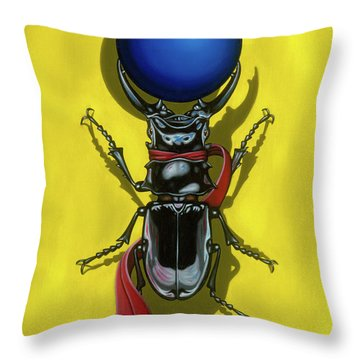 Childhood Pinch Throw Pillow