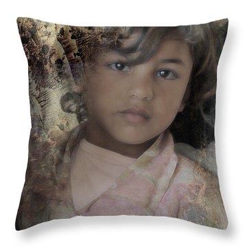 Childlike Faith Throw Pillow