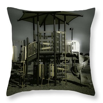 Children's Playground Throw Pillow