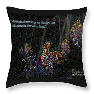 Childrens Verse Throw Pillow