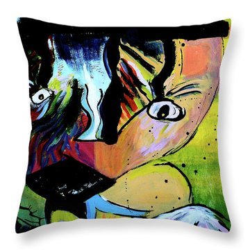 Child's Night Mare Throw Pillow