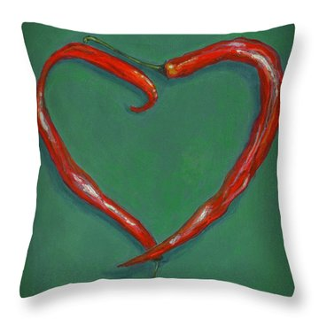 Chiles - Sweet Heat Throw Pillow
