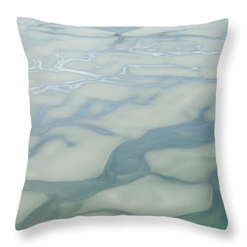 Chilkat River Patterns Throw Pillow