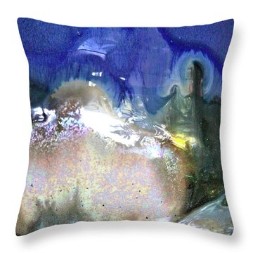 Chill Box Throw Pillow by Xn Tyler
