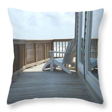 Chill Time Throw Pillow