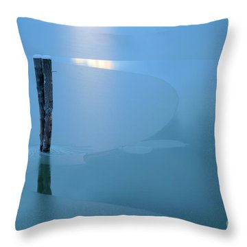 Chilled Throw Pillow by Idaho Scenic Images Linda Lantzy
