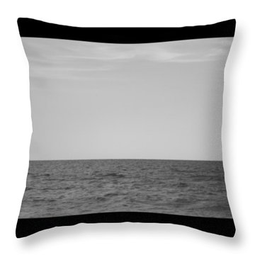 #chilling At The #seaside Of #ostia Throw Pillow