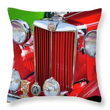 Throw Pillow featuring the photograph Chillipepper 1952 Mg by Chris Dutton