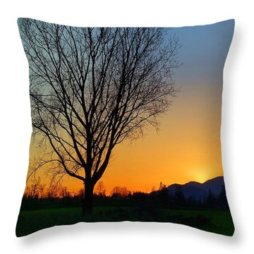 Chilliwack, British Columbia Throw Pillow