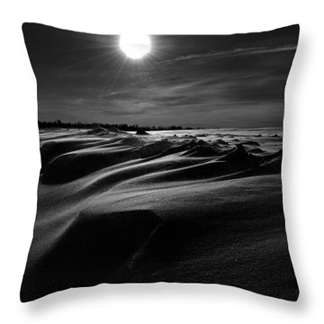 Chills Of Comfort Throw Pillow