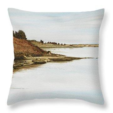 Chilmark Mv Stonewall Pond Throw Pillow
