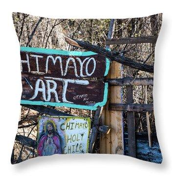 Chimayo Art Throw Pillow