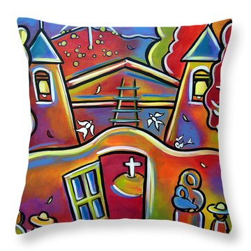 Chimayo Light Throw Pillow
