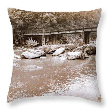 Chimney Rock  Throw Pillow