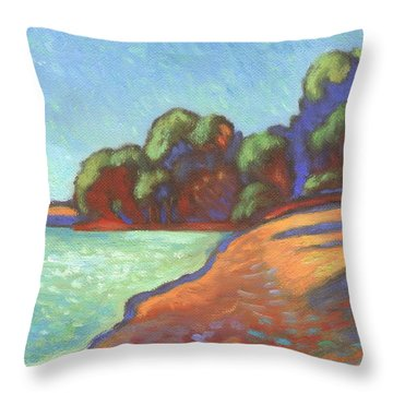 China Camp Marin  Throw Pillow