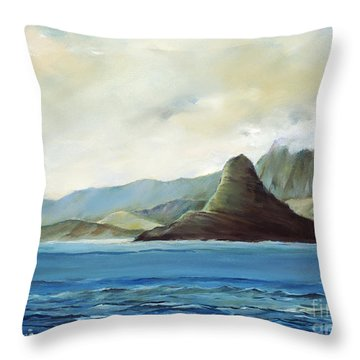 Chinamans Hat Throw Pillow by Han Choi - Printscapes