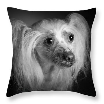 Chinese Crested - 04 Throw Pillow