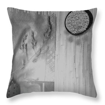 Chinese Garden Throw Pillow by Pepita Selles