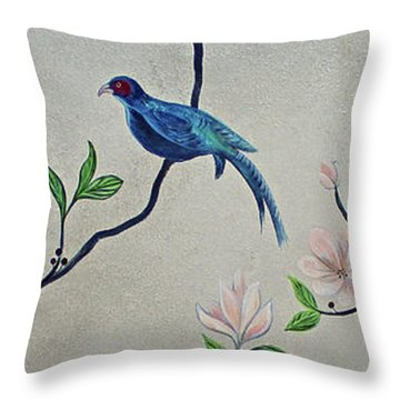 Humming Bird Throw Pillows