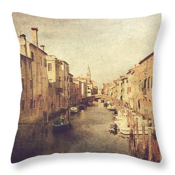 Chioggia Throw Pillow