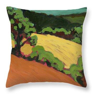 Chip Ross Park Throw Pillow