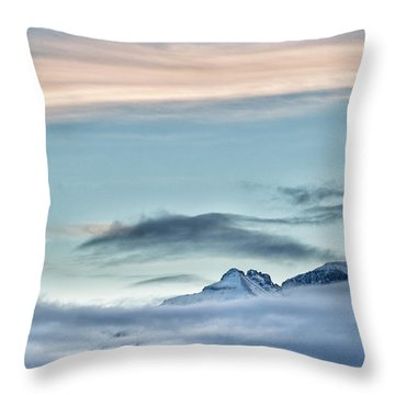 Chipeta In View Throw Pillow
