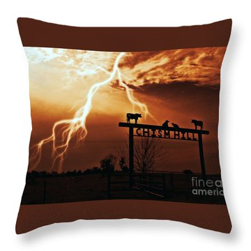 Chism Hill Throw Pillow