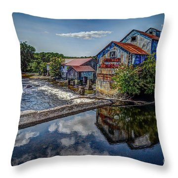 Chisolm's Mills Throw Pillow