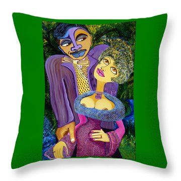 Chivalry Is Alive Throw Pillow