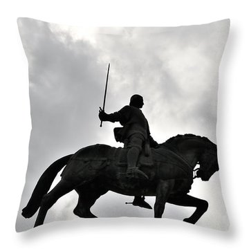 Chivalry Throw Pillow by Marwan Khoury
