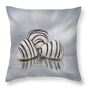 Chocolate Strawberries Throw Pillow