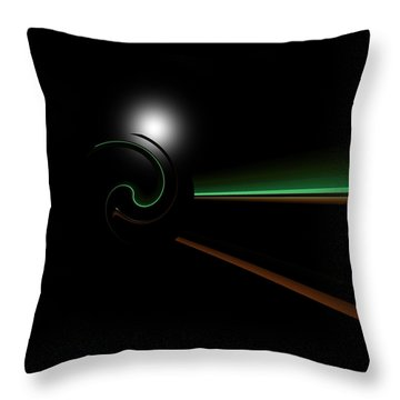 Chompeters Throw Pillow