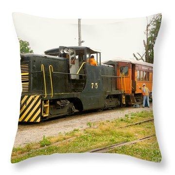 Choo Choo Throw Pillow