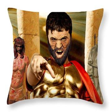 Choose  Throw Pillow by Mark Allen