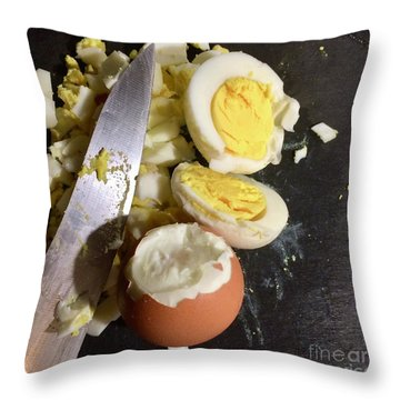 Chopped Throw Pillow